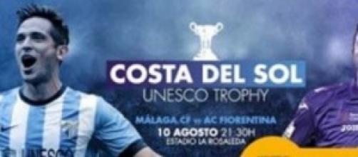 Malaga-Fiorentina, 10 agosto ore 21:30