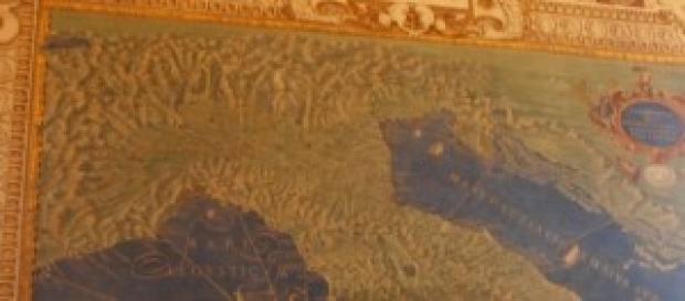Carte geografiche, Musei Vaticani, l'Italia antica
