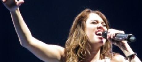 Miley Cyrus, el idolo de las adolescentes.
