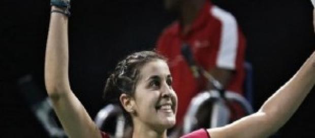 Carolina Marín, campeona mundial en bádminton