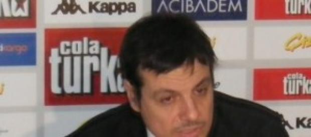 El seleccionador de Turquía.
