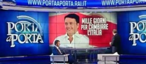 Riforma pensioni 2014, Renzi a Porta a Porta