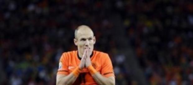 Arjen Robben grande assente