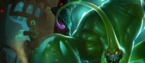 Splash art del campeon, si ninguna skin activada
