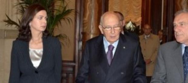 Napolitano, Grasso e Boldrini su Consulta e Csm