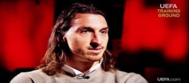 Zlatan Ibrahimovic e il suo Psg contro il Rennes