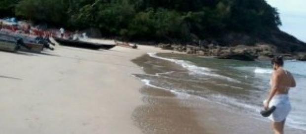 Caminhada na praia, tranquilidade - Trindade RJ