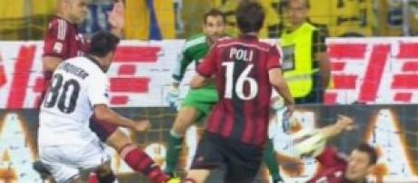 Parma-Milan, partita ricca di gol ed emozioni.