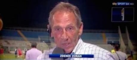 Zeman, il nuovo allenatore del Cagliari