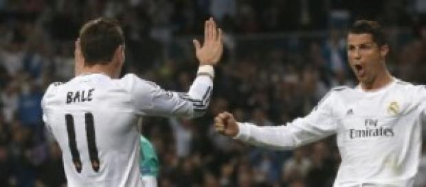 Bale y Cristiano. Foto: xinhuanet.com