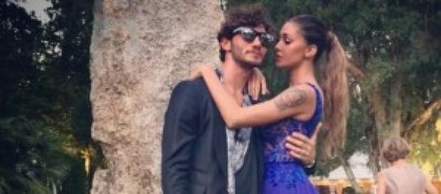 Belen Rodriguez e Stefano De Martino al matrimonio