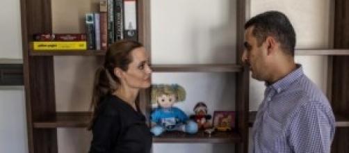 Angelina Jolie ambasciatrice dell'Unhcr a Malta