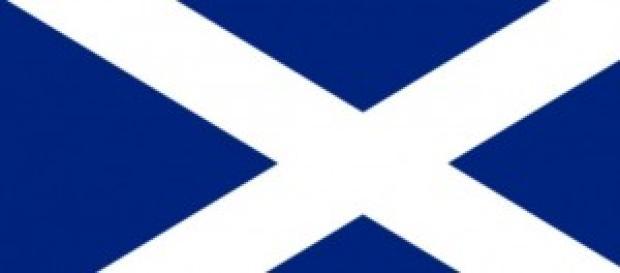 Cruz de Santo André - bandeira da Escócia