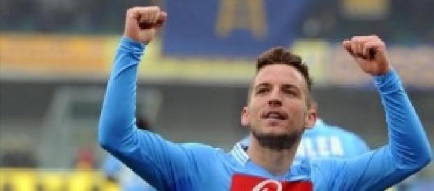 il centrocampista belga Mertens