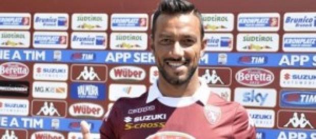 l'ex juventino Fabio Quagliarella