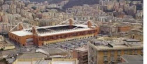 Lo stadio Ferraris di Genova