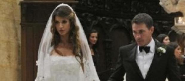 Elisabetta Canalis, dopo le nozze, un figlio.