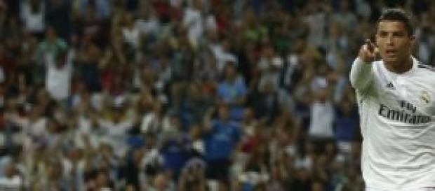 Imagen del gol de Cristiano Ronaldo