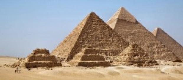 Las famosas piramides de Egipto.
