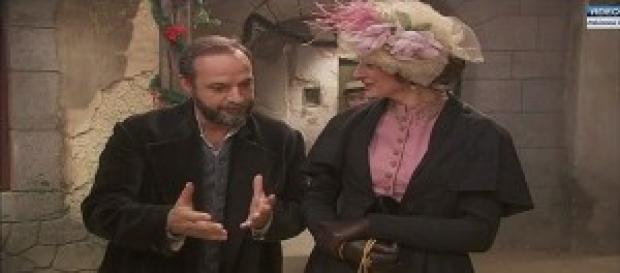 Raimundo insieme a donna Agueda