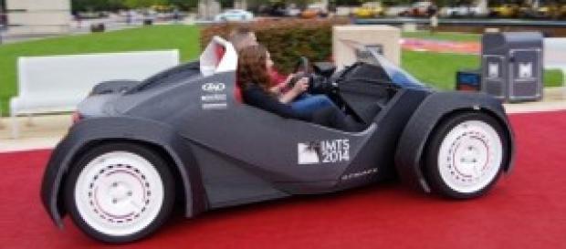 Strati, o primeiro carro impresso em 3D