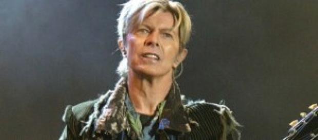 Una imagen del cantante David Bowie