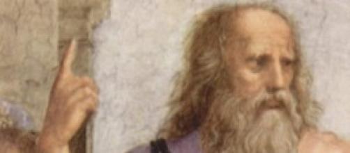 Fotografía del filósofo Platón.