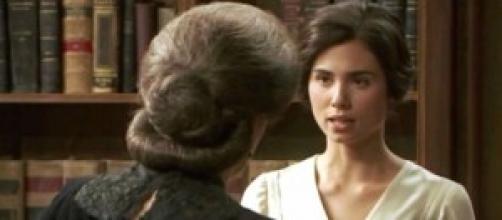 Il Segreto, Maria si ribella a Donna Francisca.