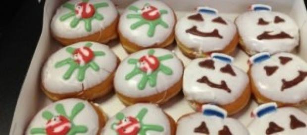 Una caja de estos donuts tan especiales