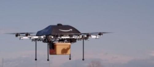 Drone para entregas - teste da Amazon