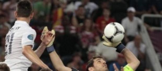 La Francia di Pogba contro la Spagna di Llorente