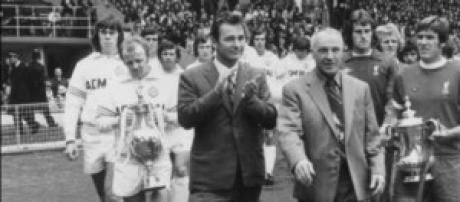 Clough con la Coppa dei Campioni vinta due volte