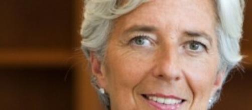 Christine Lagarde del FMI