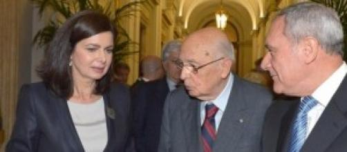 Grasso, Napolitano, Boldrini: news Consulta e Csm