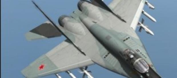 Caza ruso MIG-29. Uno de los más eficaces.