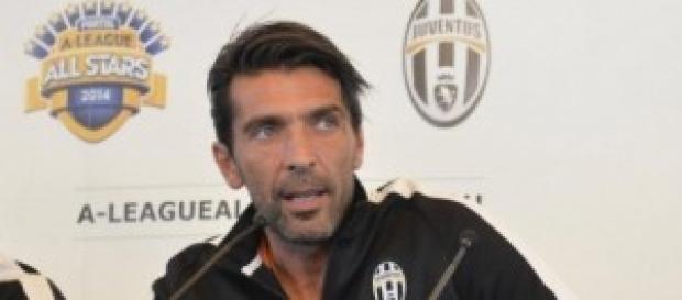 Il portiere della Nazionale Gigi Buffon