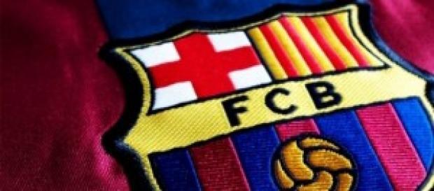 Lo stemma del Barcellona.