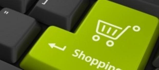 Tecla de compra on line en ordenador