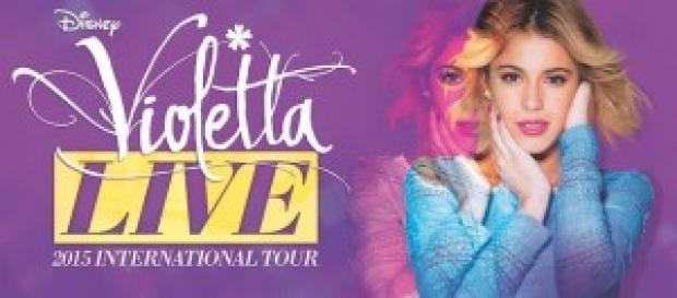 Tutte le info per il concerto Violetta Live 15.