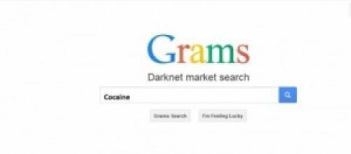 Grams el buscador de mercados ilícitos.