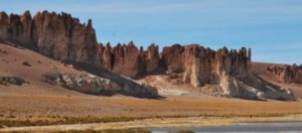 Catedrais de Tara no Deserto do Atacama