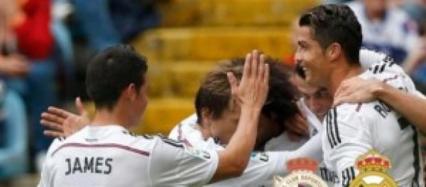 El Madrid golea en Riazor. Foto: Diario Bernabéu