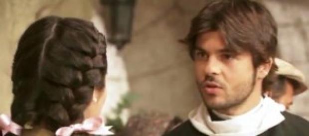 Il Segreto, Gonzalo scopre che Maria è contagiata.