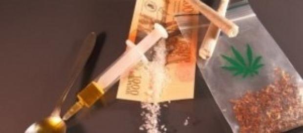 Las drogas te llevan a abismo seguro
