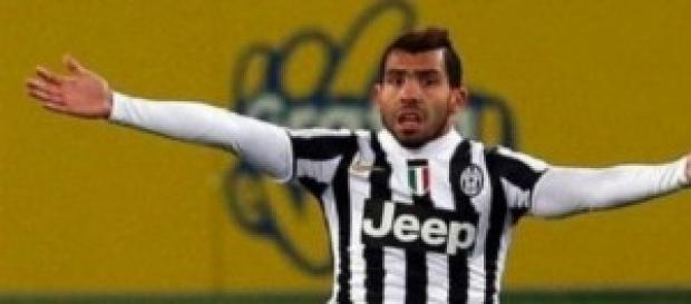 Milan-Juventus 0-1: segna Tevez