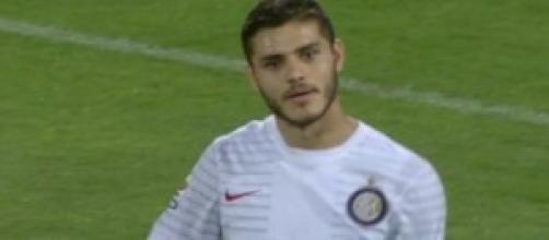 Calcio, Serie A, Icardi in Palermo-Inter.
