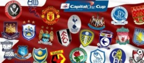 Capital One Cup, 3° turno 23 settembre