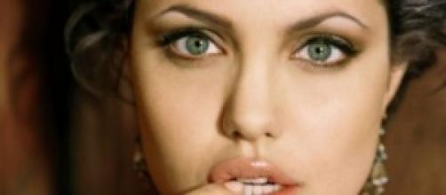 La actriz, Angelina Jolie