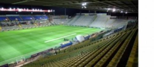 Lo stadio Tardini di Parma