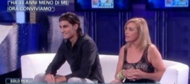 Lory Del Santo litiga in tv con la suocera.